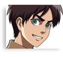 Eren Jaeger from Attack on Titan Canvas Print
