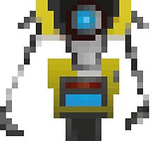 Claptrap from Borderlands by Reym17