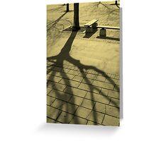 Treefingers Greeting Card