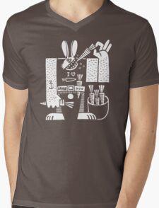 Carrots All Day Long Mens V-Neck T-Shirt