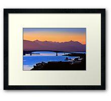 Isle of Skye Bridge, Kyle of Lochalsh, Scotland Framed Print