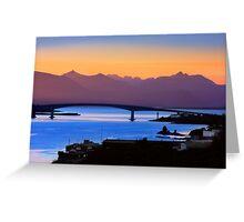 Isle of Skye Bridge, Kyle of Lochalsh, Scotland Greeting Card