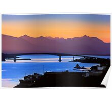 Isle of Skye Bridge, Kyle of Lochalsh, Scotland Poster
