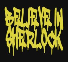 Believe in Sherlock Kids Tee