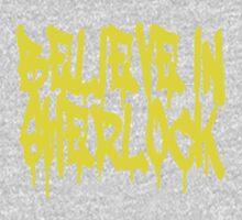 Believe in Sherlock One Piece - Long Sleeve