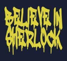 Believe in Sherlock Baby Tee