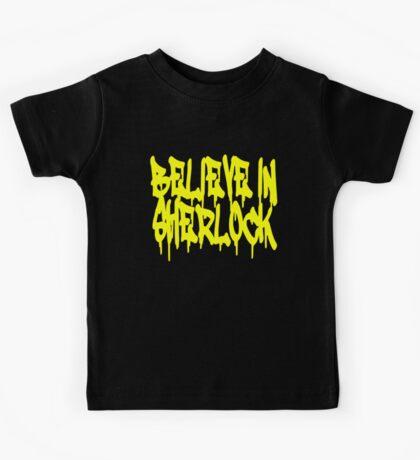 Believe in Sherlock Kids Tee