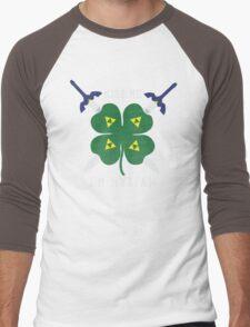 Kiss Me I'm Hylian Men's Baseball ¾ T-Shirt