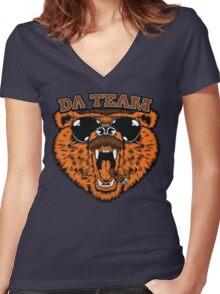 Da Team Women's Fitted V-Neck T-Shirt