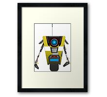 Claptrap from Borderlands Framed Print