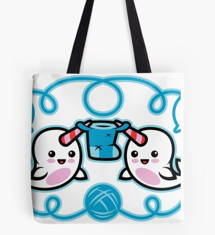 The Narwhal- Nature's Knitter! Tote Bag