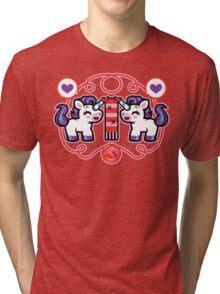 The Unicorn- Nature's Mystical Knitter Tri-blend T-Shirt