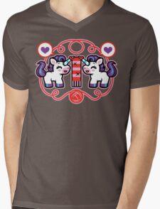The Unicorn- Nature's Mystical Knitter Mens V-Neck T-Shirt