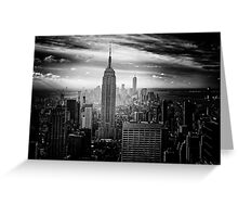 New York City Empire State Building Greeting Card
