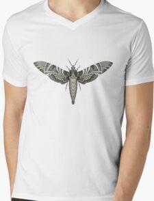 Moth Mens V-Neck T-Shirt