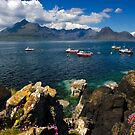 Elgol and Fishing Boats. Isle of Skye. Scotland. by photosecosse /barbara jones