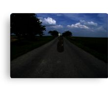 Highway Ghost Canvas Print