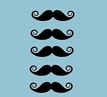 I Moustache You A Question. by iclaireeee