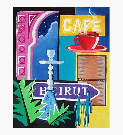 Beirut Nights II Photographic Print