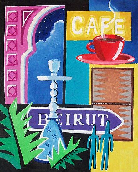 Beirut Nights II by nancy salamouny