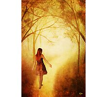 Amanda's Path_Altered 2 Photographic Print