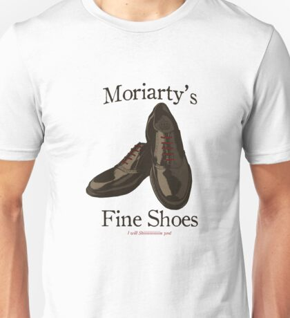 Jim Moriarty's Fine Shoes Unisex T-Shirt