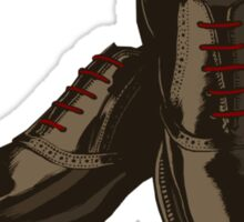 Jim Moriarty's Fine Shoes Sticker