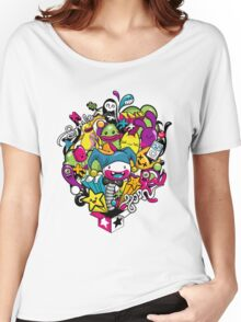 Happy life Women's Relaxed Fit T-Shirt