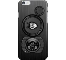 SPEAKER IPHONE CASE 3b iPhone Case/Skin