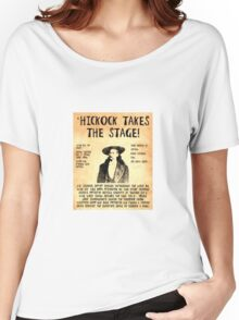 Wild Bill Hickock Women's Relaxed Fit T-Shirt
