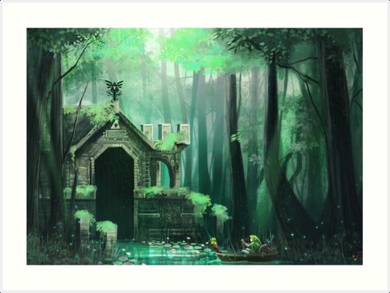 Swamp Temple by pertheseus