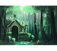 Swamp Temple Photographic Print