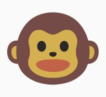 EMOJI MONKEY Kids Tee