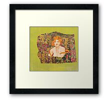 Eve In the Garden of Creation Framed Print