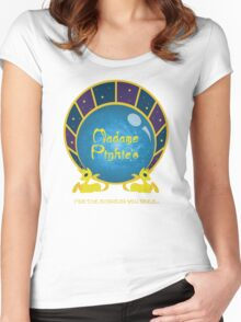 Madame Pinkie's... for all the answers you seek! Women's Fitted Scoop T-Shirt