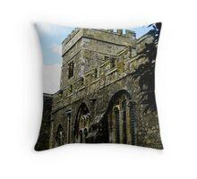 St John the Baptist Church Tunstall Throw Pillow