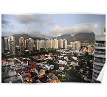 Rio de Janeiro in the evening Poster