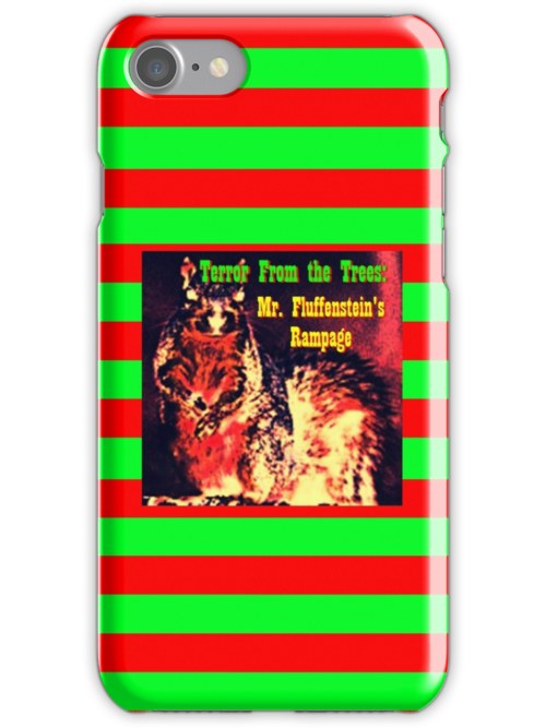 Terror From the Trees iphone by Margaret Bryant