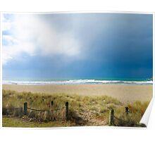 Mount Maunganui main beach 2 Poster