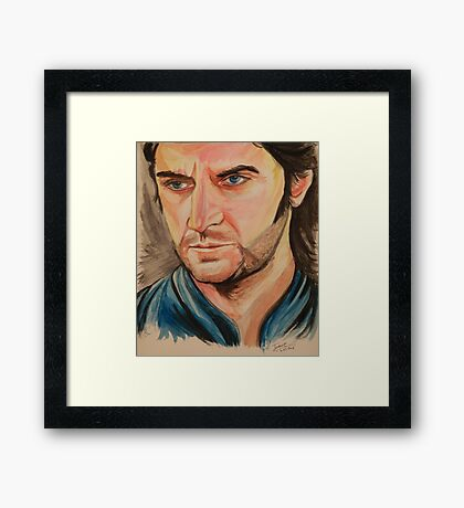 Richard Armitage, nice Guy Framed Print