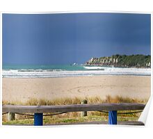 Mount Maunganui main beach 3 Poster
