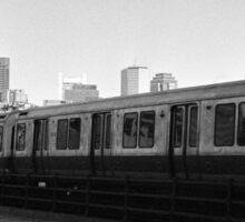 Red Line MBTA Sticker