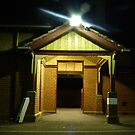 Train Station Entrance by Joan Wild