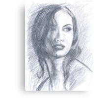 NEIGHBOR GIRL Canvas Print
