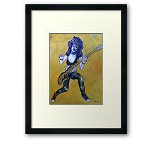 Rock Chica Framed Print