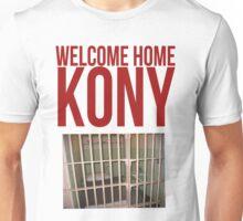 "Kony T-Shirt - Kony 2012 ""Welcome Home"" Unisex T-Shirt"