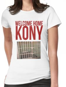 "Kony T-Shirt - Kony 2012 ""Welcome Home"" Womens Fitted T-Shirt"
