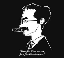 Groucho Marx flies like a t-shirt Unisex T-Shirt