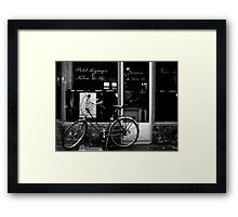 Paris Bicycle Framed Print