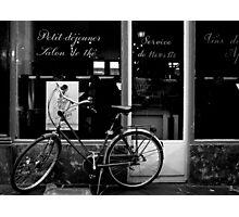 Paris Bicycle Photographic Print
